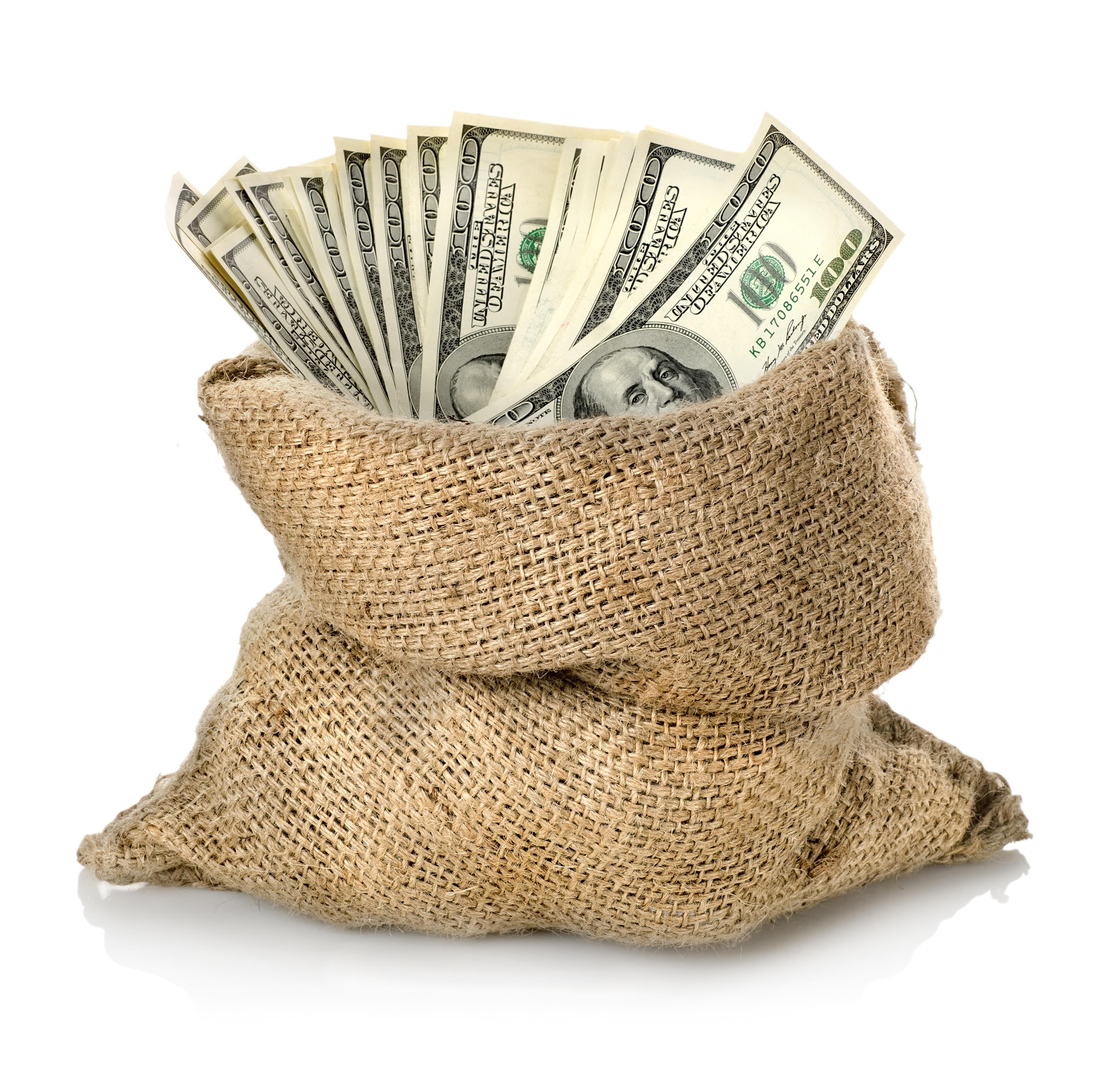 Фото с деньгами в руках
