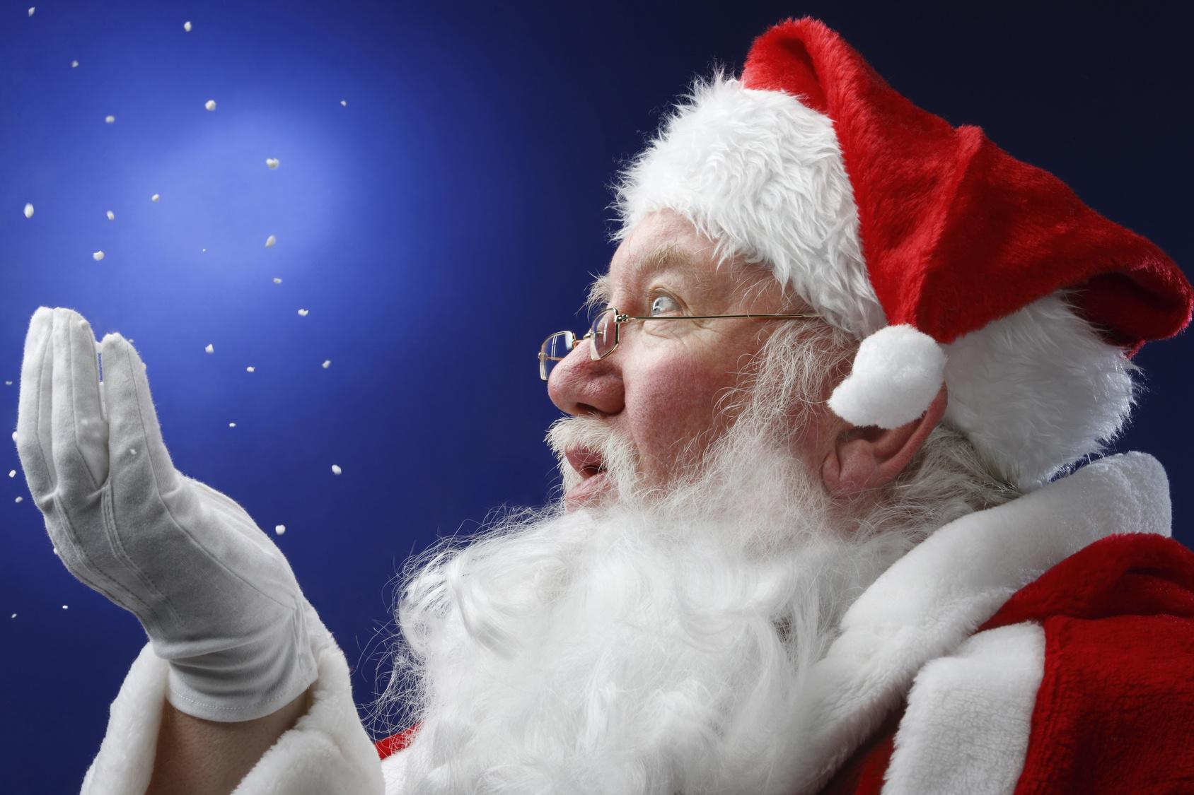 Дед мороз работает картинка