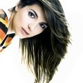Лицо девушки брюнетки - Girl's face brunette