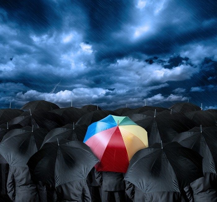 Fotolia 41309507 L Яркий зонт   Вright umbrella
