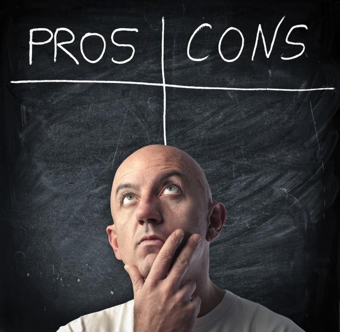Плюсы и минусы - Pros and Cons