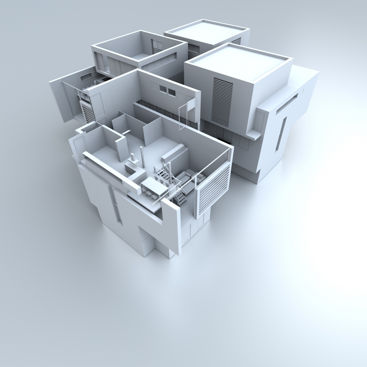 3D-план квартиры — 3D-plan apartments