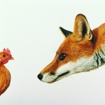 Лиса и курица - Fox and the Chicken