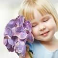 Девочка с цветком — Girl with a flower