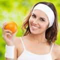 Девушка с апельсином - Girl with orange