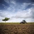 Трактор в поле - Tractor in field