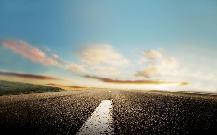 Асфальтная дорога - Asphalt road