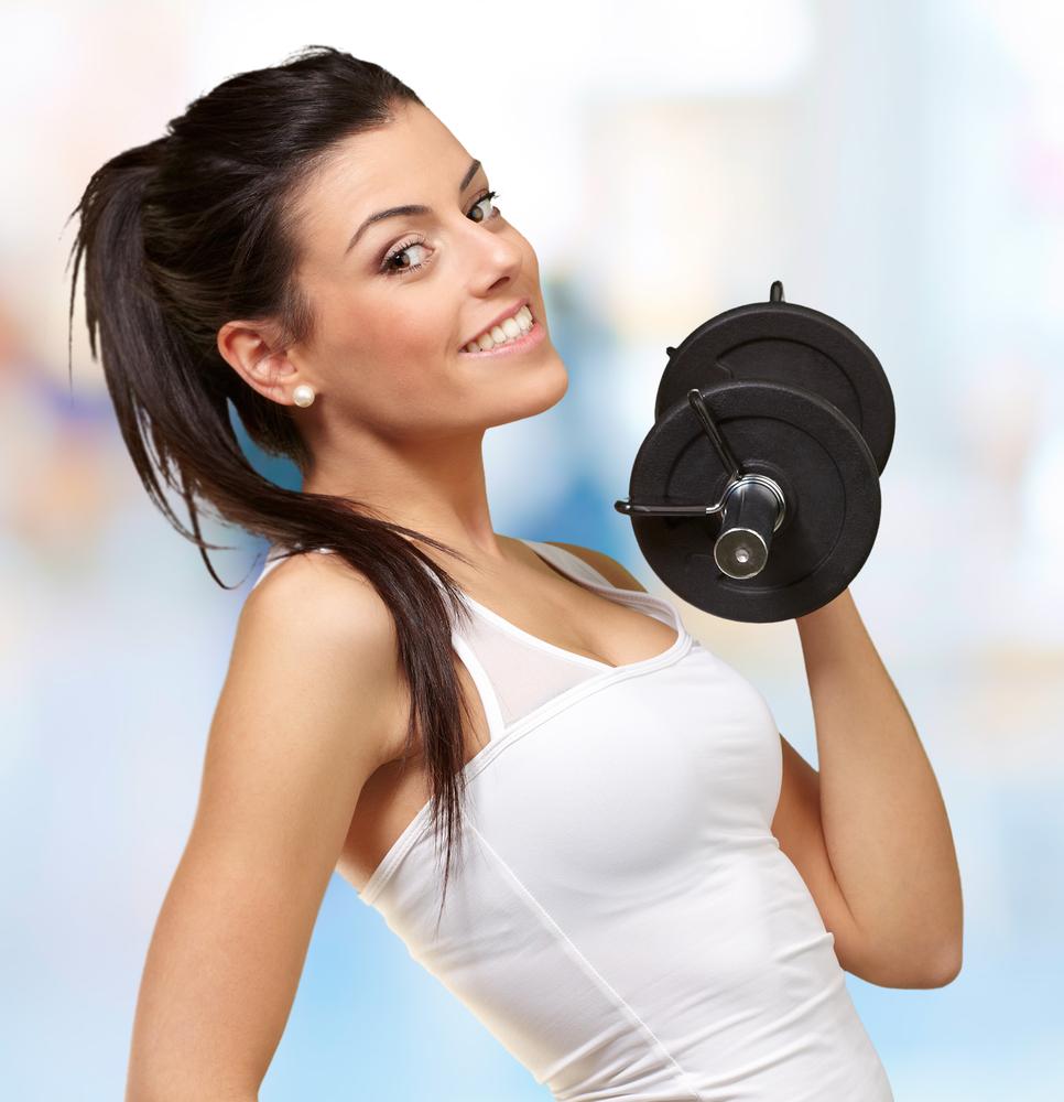 shutterstock 106214354 Спортивная девушка   Sports girl