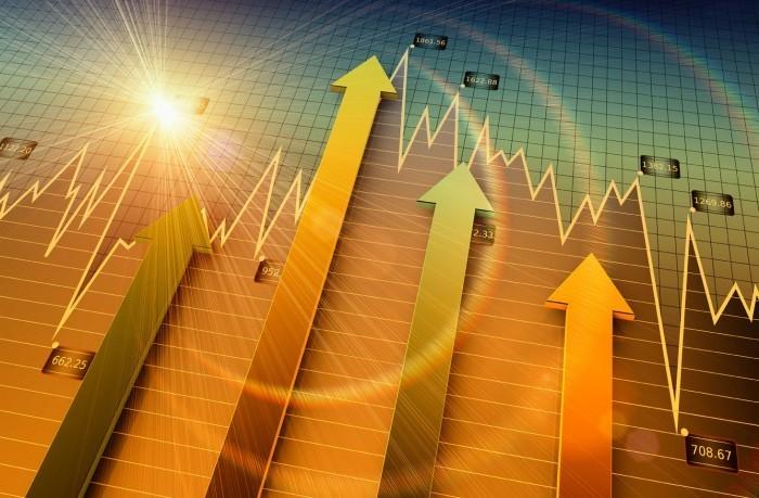 shutterstock 91074572 Стрелки на графике   Аrrows on the chart