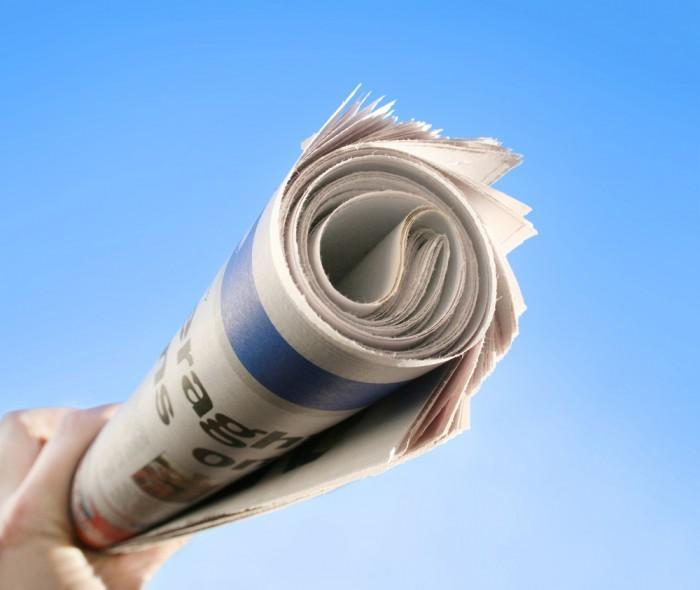 shutterstock 92143942 Газета   Newspaper