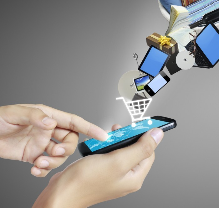 Онлайн покупки — Online shopping