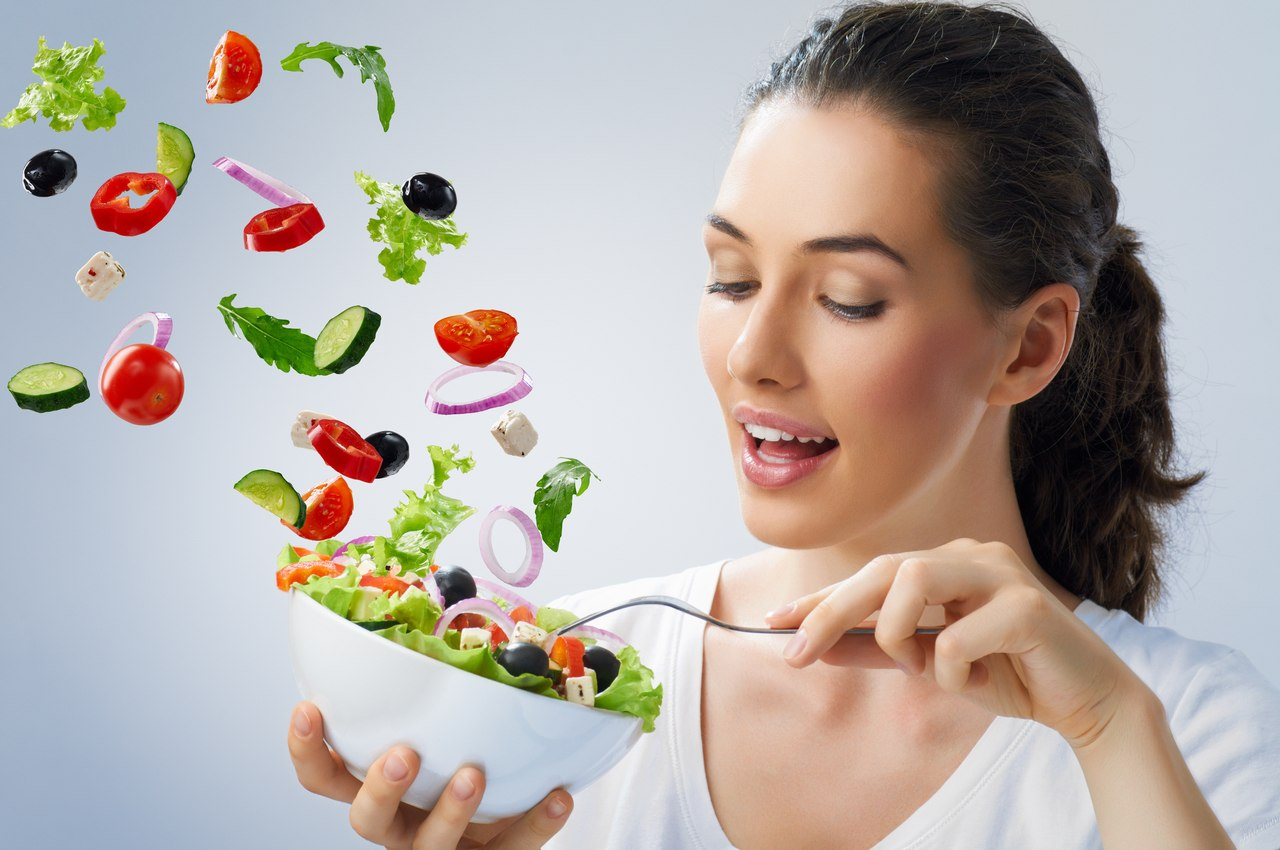 здоровое питание еда