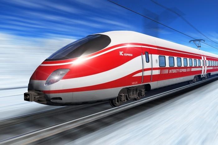 754 Скорый поезд   Fast train