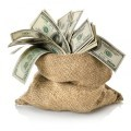 Мешок с долларами - Bag with dollars