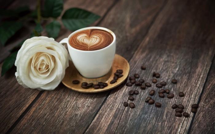 firestock cofee rose 05082013 Чашка кофе   A cup of coffee