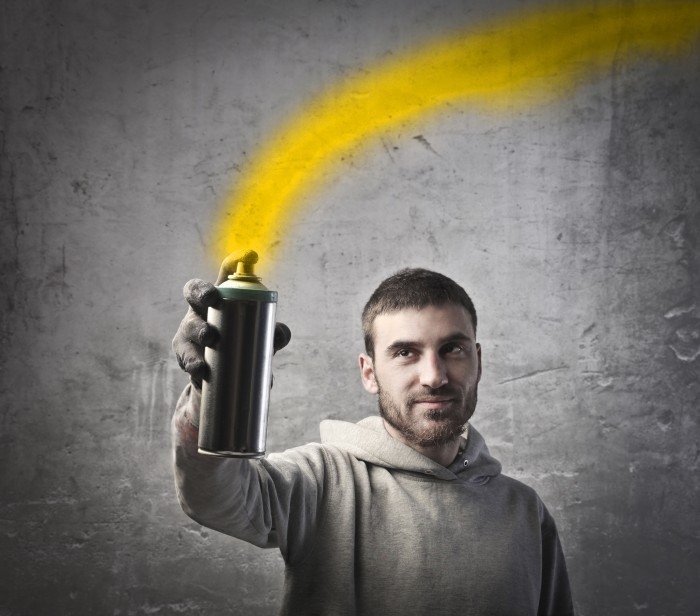 firestock man paint 20082013 Мужчина с баллончиком краски   Мan with spray paint