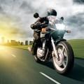 Мотоцикл на скорости - Motorcycle at speeds