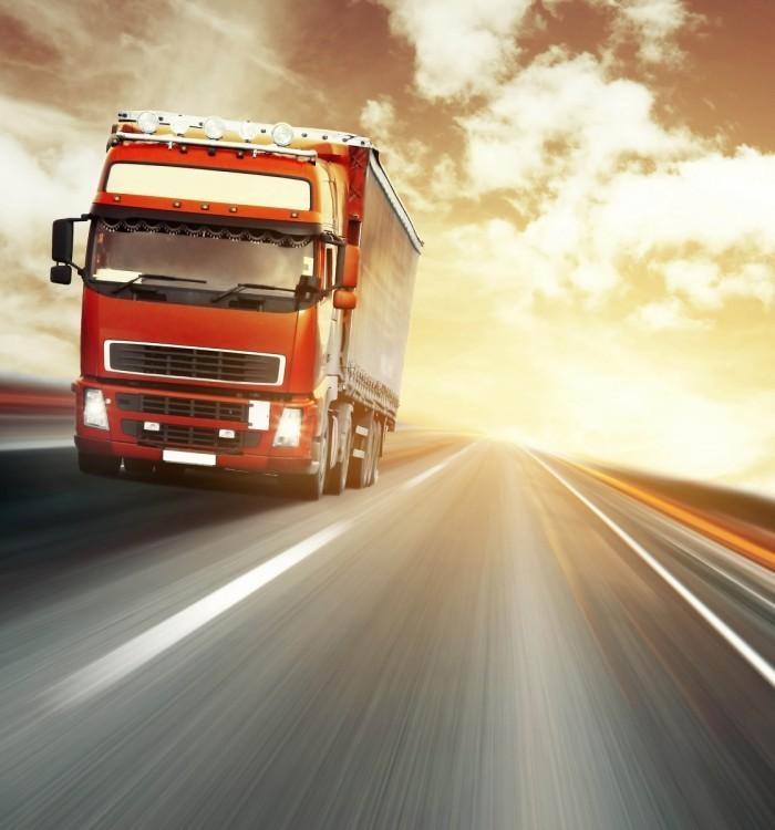 picture 15776 700x750 Грузовик на автостраде   Truck on freeway
