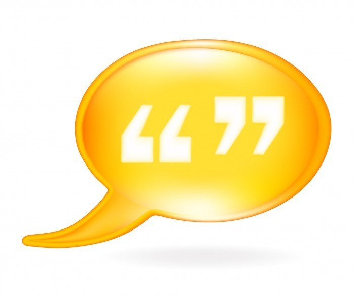 quotation mark fotolia 21125520 l Знак кавычки   Quotation mark
