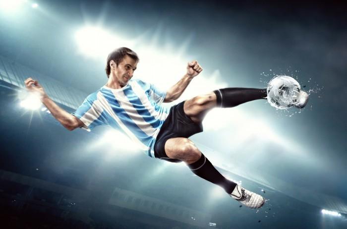 shutterstock 104291099 Футболист   Football player