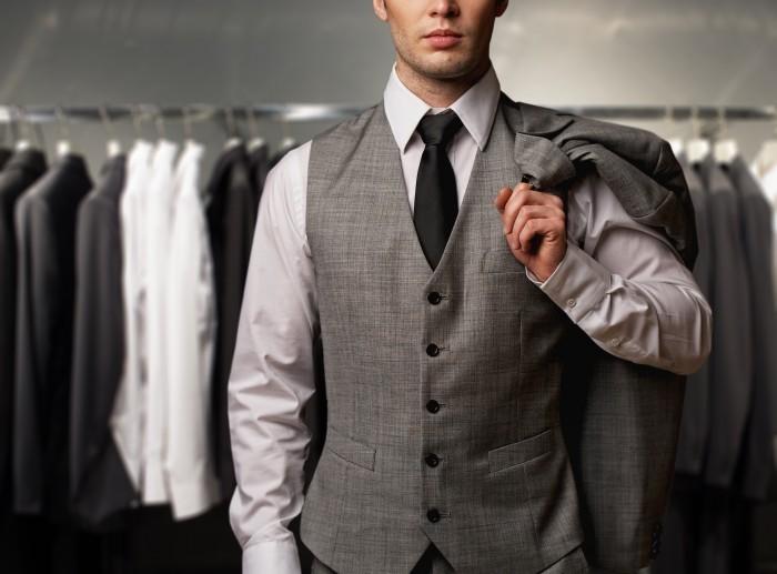 shutterstock 119686276 Мужчина в жилетке   Мan in a vest