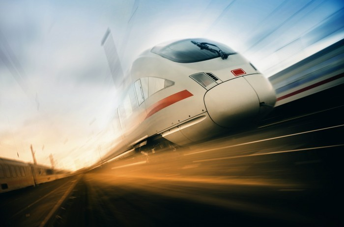 157691 Скорый поезд   Fast train