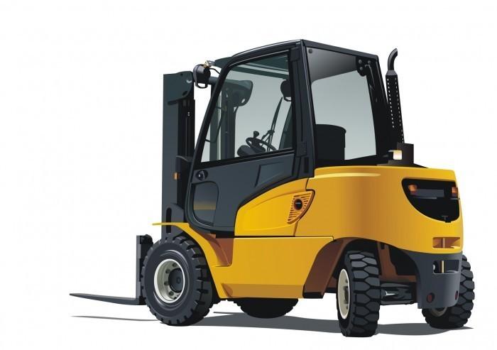 Gabelstapler Fotolia 2141206 M Трактор   Tractor