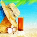 Соломенная шляпа и автозагар - Straw hat and tan