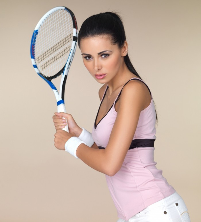firestock girl tennis 03092013 700x775 Теннисистка   Tennis
