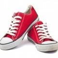 Красные кеды - Red sneakers