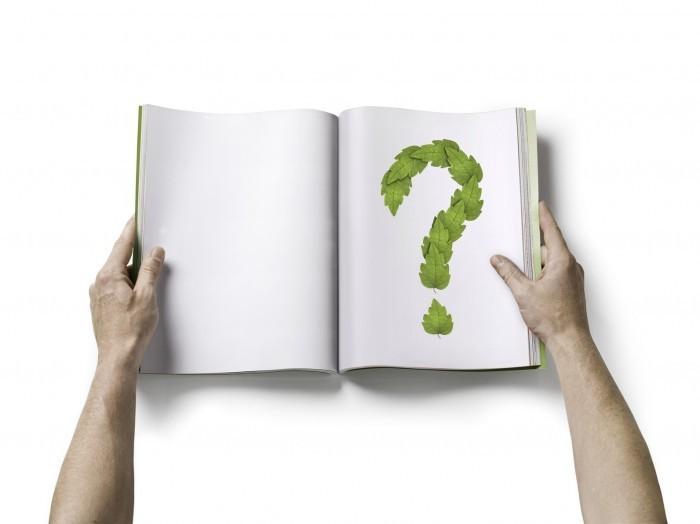 hand book Книга с вопросом в руках   Вook with the question in the hands of