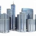 Макет зданий - Layout of buildings
