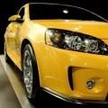 Желтое авто - Yellow car