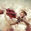 Женщина со скрипкой - Woman with a violin