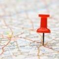 Пункт назначения на карте - Destination on the map
