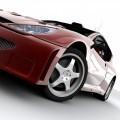 Красное авто - Red car