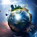 Город вокруг земного шара - Сity around the globe