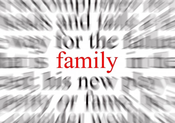 Fotolia Family word 1524350 Subscription XL Семья   Family