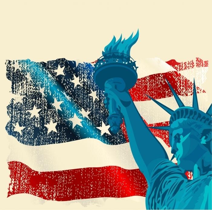 Fotolia 42571193 Subscription Monthly M Флаг Америки   Flag of America