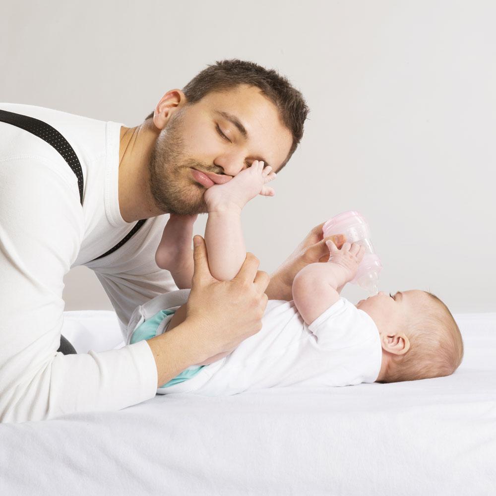 Папа с малышом в картинках