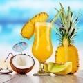 Экзотические коктейли с ананасом - Exotic cocktails with pineapple