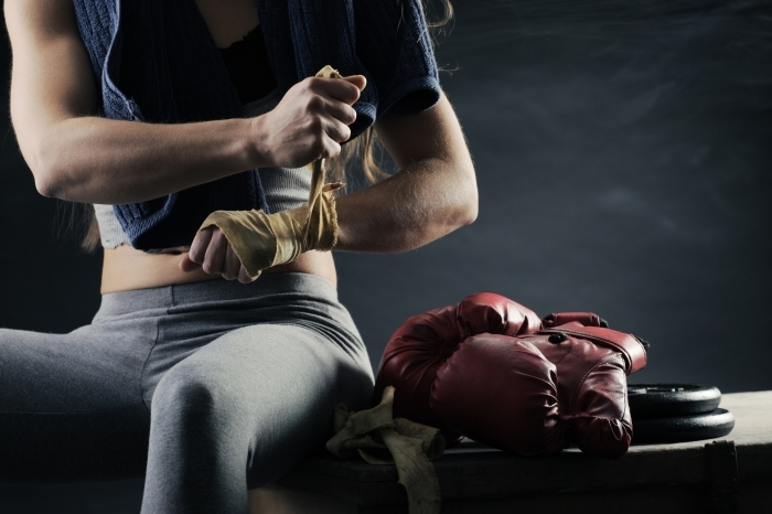 firestock box 28102013 Женщина боксер   Female Boxer
