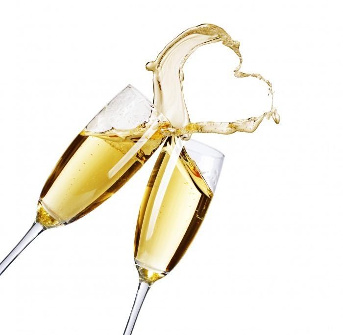 firestock glasses 06102013 Бокалы шампанского   Glasses of champagne