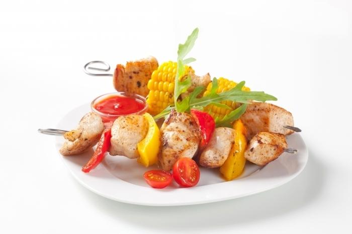 firestock kebabs 28102013 Шашлык с овощами   Kebab with vegetables