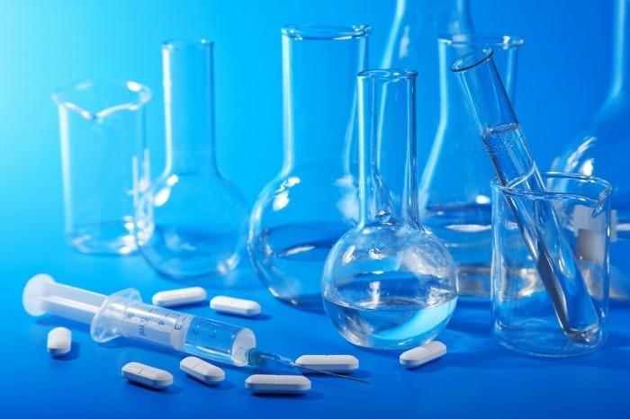 shutterstock 58723357 Медицинские колбы   Мedical flask