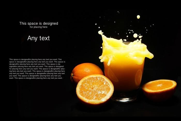 shutterstock 96322196 Апельсиновый фреш   Fresh orange juice