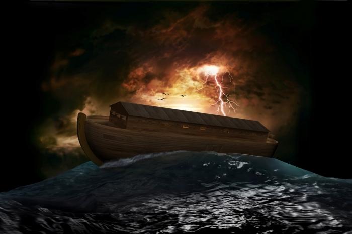 Depositphotos 13471701 m Деревянная лодка в шторм   Wooden boat in a storm