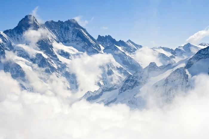 Fotolia 38572344 XL Горы в тумане   Mountains in the mist