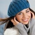 Девушка в уютной шапке - Girl in a cozy hat