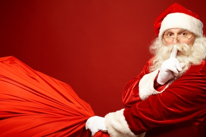 Fotolia 46077675 Subscription Monthly XXL Дед мороз с мешком   Santa Claus with a bag